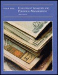 9780030970528: Investment Analysis and Portfolio Management