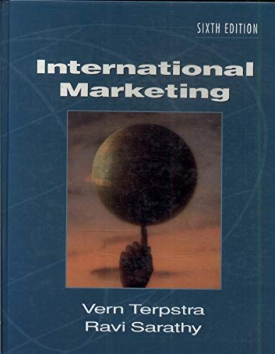 International Marketing (The Dryden Press Series in: Vern Terpstra