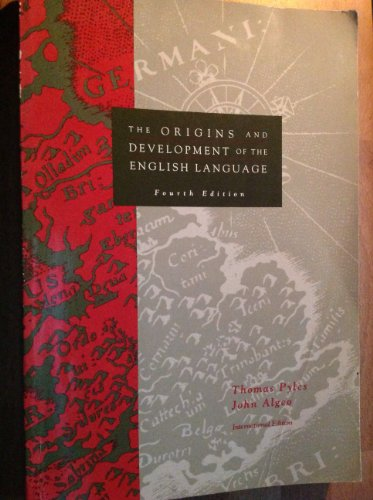 9780030970542: The Origins and Development of the English Language