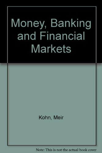 9780030970832: Money, Banking and Financial Markets