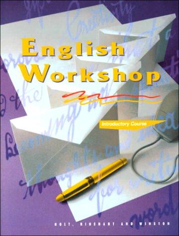 9780030971730: HRW English Workshop: Student Edition Grade 6