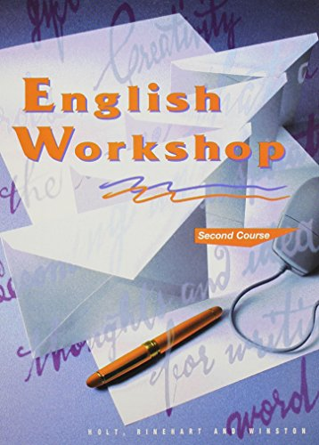 9780030971754: Holt, Rinehart and Winston English Workshop Second Course Grade 8 (HRW English Workshop)