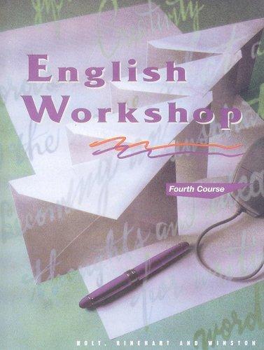 9780030971778: HRW English Workshop: Student Edition Grade 10