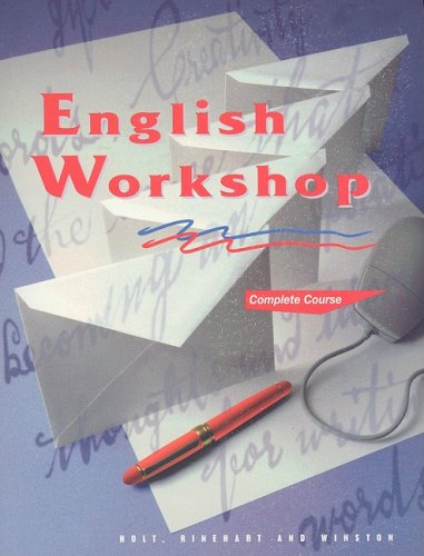 9780030971792: HRW English Workshop: Student Edition Grade 12