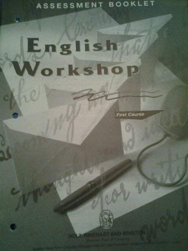 9780030971884: English Workshop First Course (Teacher's Notes with Answer Keys)