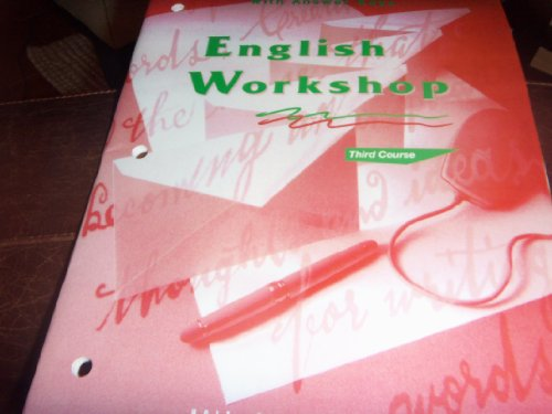 9780030971907: Teacher's Notes with Answer Keys (English Workshop, Third Course)