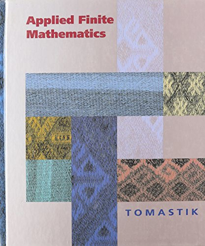 9780030972584: Applied Finite Mathematics