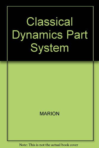 9780030973031: Classical Dynamics Part System
