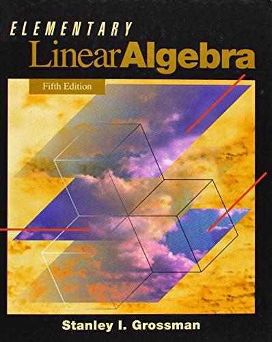 9780030973543: Elementary Linear Algebra