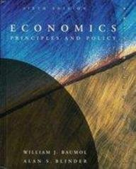 9780030974526: Economics: Principles and Policy