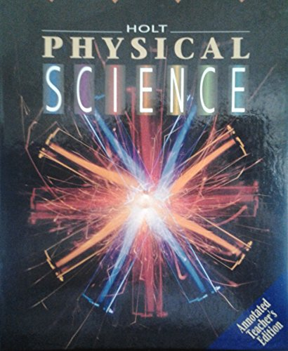 9780030975394: Physical Science Teacher Edition