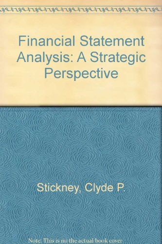 9780030975820: Financial Statement Analysis: A Strategic Perspective