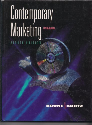 Contemporary Marketing: Plus (The Dryden Press Series: Boone, Louis E.,