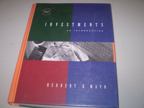 9780030976476: Investments: An Introduction (The Dryden Press Series in Finance)