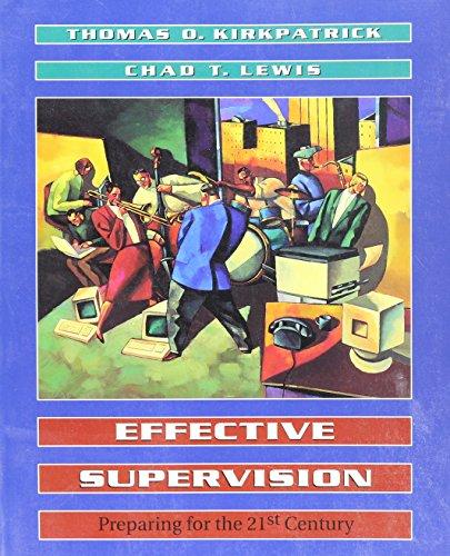 9780030976636: EFFECTIVE SUPERVISION+ (Dryden Press Series in Management)