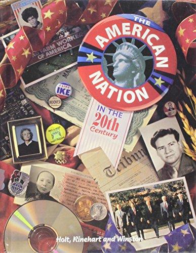 9780030976834: The American Nation in the Twentieth Century