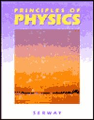 9780030977152: Principles of Physics (Saunders golden sunburst series)