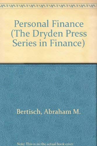 9780030977374: Personal Finance (The Dryden Press Series in Finance)