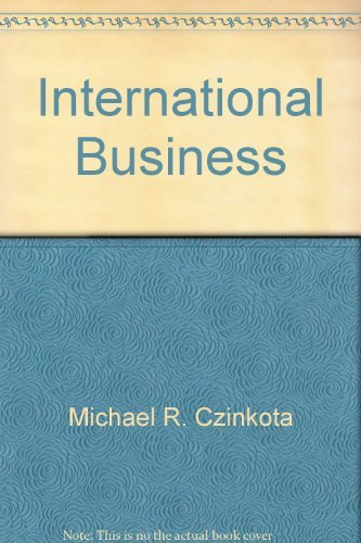 9780030980206: International Business