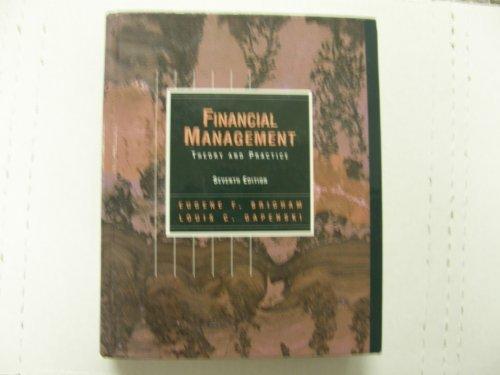 9780030980664: Financial Management