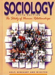 Sociology, The Study of Human Relationships (Teacher's: Holt
