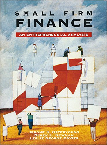 9780030982200: Small Firm Finance (Dryden Press Series in Finance)