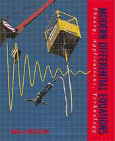 9780030983375: Modern Differential Equations