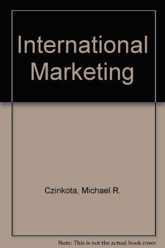 9780030983429: International Marketing