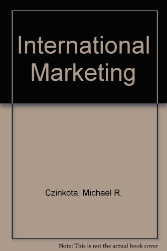 9780030983429: International Marketing (The Dryden Press series in marketing)