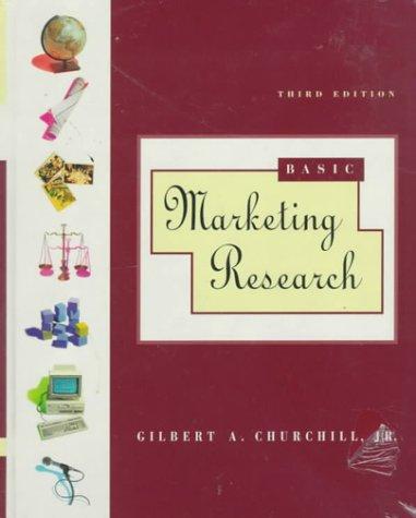 9780030983672: Basic Marketing Research