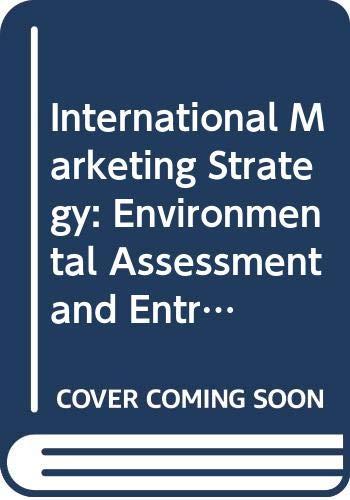 9780030983733: International Marketing Strategy (Dryden Press Series in Marketing)