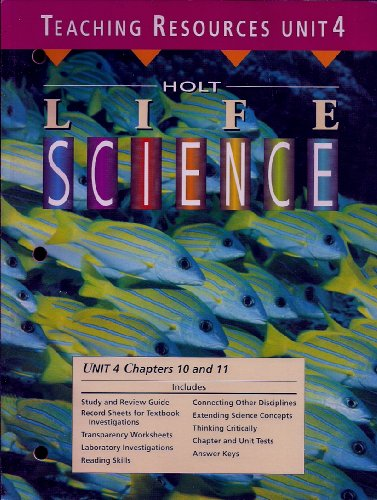 Holt Life Science - Teaching Resources (Unit: None Listed
