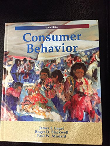 9780030984648: Consumer Behaviour (The Dryden Press Series in Marketing)