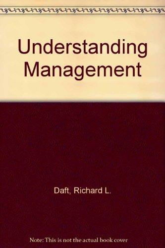 9780030985829: Understanding Management