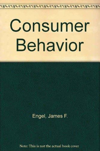 9780030986468: Consumer Behavior: Test Book