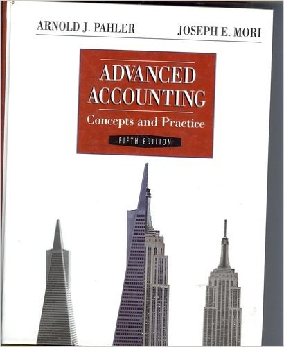 9780030986970: Advanced Accounting: Concepts and Practice (The Dryden Press series in accounting)