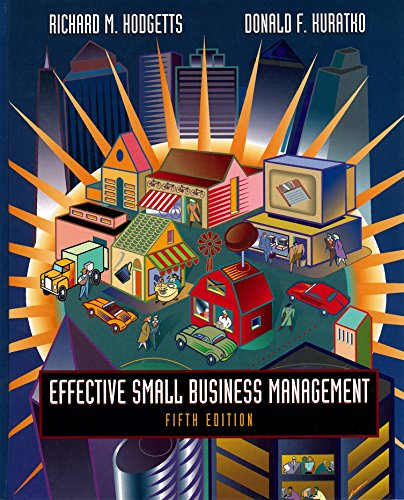 9780030987205: Effective Small Business Management (The Dryden Press series in entrepreneurship)