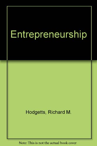 9780030987250: Entrepreneurship
