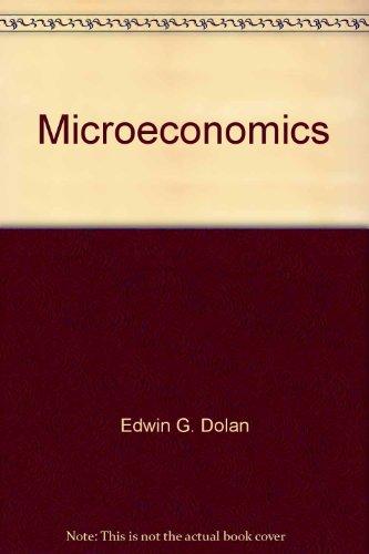9780030987861: Microeconomics