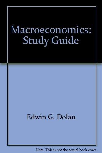 9780030987939: Macroeconomics: Study Guide