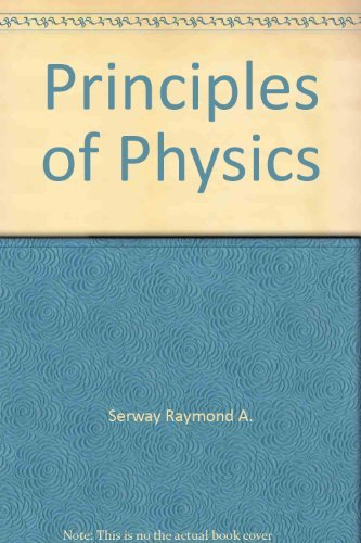 9780030988653: Principles of Physics