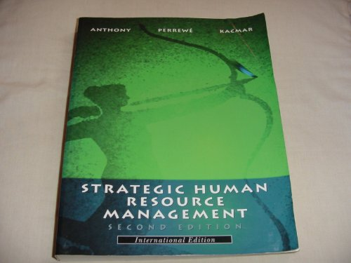 9780030989261: Strategic Human Resource Management