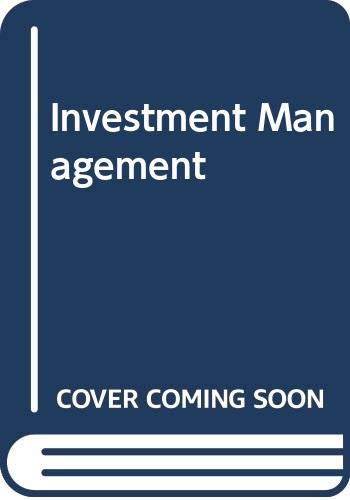 9780030989537: Investment Management