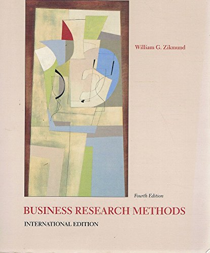 9780030989575: Business Research Methods
