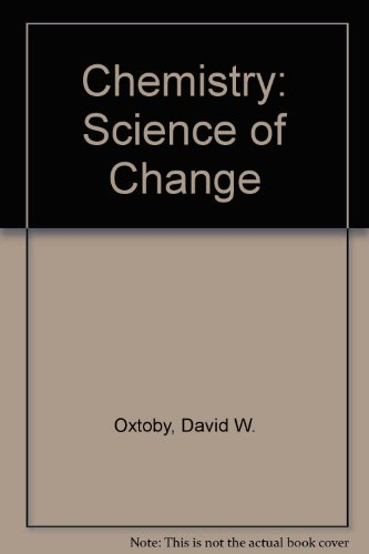 9780030989681: Chemistry: Science of Change