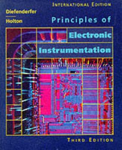 9780030989735: Principles of Electronic Instrumentation