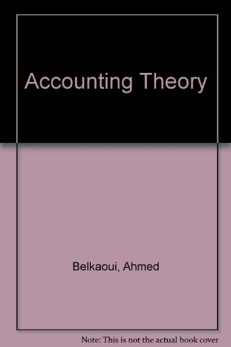 Financial Accounting Theory, 8th Edition