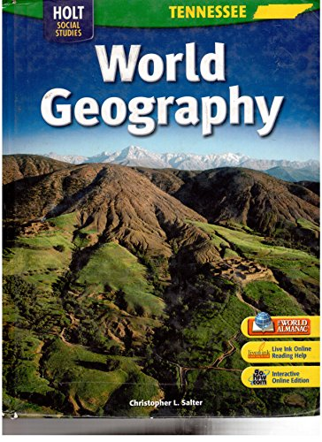 9780030990663: Holt World Geography Tennessee: Student Edition Grades 6-8 2007