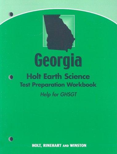 9780030990731: Holt Earth Science Georgia: Holt Earth Science Test Preparation Workbook (Helpfor the GHSGT)