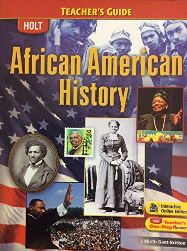 9780030991653: African American History: Teacher Guide 2008